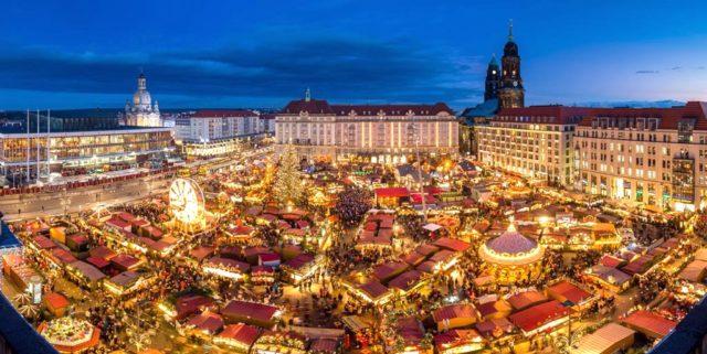 ドイツの世界最古クリスマスマーケット「ドレスデン」を楽しむ!